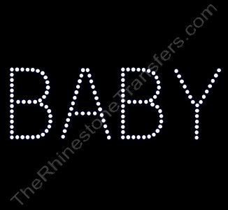 BABY - Rhinestone Design File Download