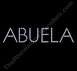 ABUELA - Rhinestone Design File Download