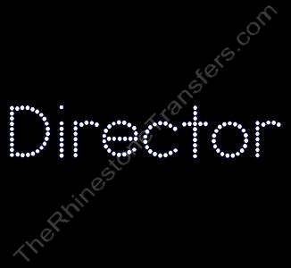 Director - Rhinestone Design File Download