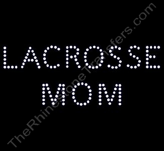 LACROSSE MOM - Style 1 - Rhinestone Design File Download