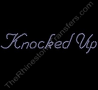Knocked Up - Rhinestone Design File Download