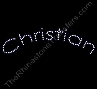 Christian - Arched - Rhinestone Design File Download
