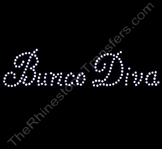 Bunco Diva - Rhinestone Transfer