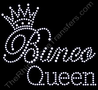 Bunco Queen - Rhinestone Transfer