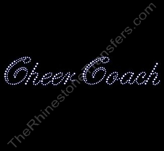 Cheer Coach - Script - Rhinestone Transfer