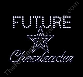 FUTURE Star Cheerleader - Small - Rhinestone Transfer