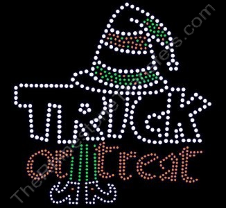 Trick or Treat - Rhinestone Transfer