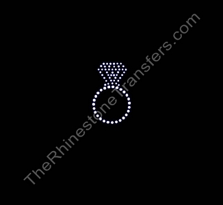 Ring - Large - CUSTOMIZE YOUR COLORS - Rhinestone Transfer