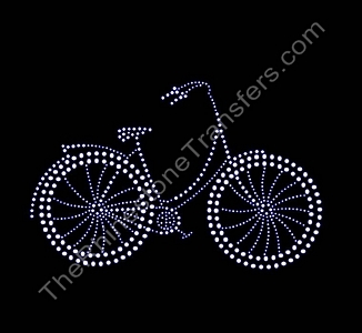 Bike - Rhinestone Transfer