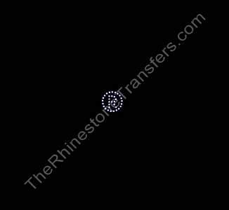 Registered Trademark Symbol - R in Circle - Rhinestone Transfer