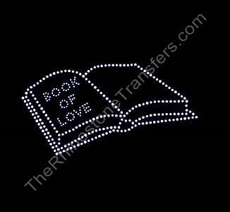Book Of Love - Rhinestone Transfer