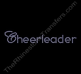 Cheerleader - Small - Rhinestone Design File Download